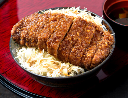牛ソースカツ丼